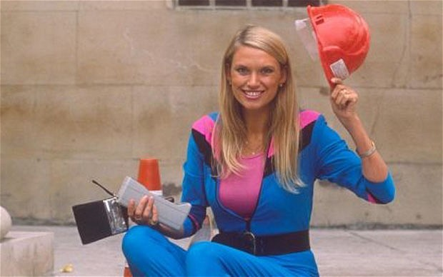 162324a Television Challenge Anneka